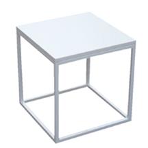 beistelltisch wei eckig icnib. Black Bedroom Furniture Sets. Home Design Ideas